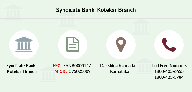 Syndicate-bank Kotekar branch
