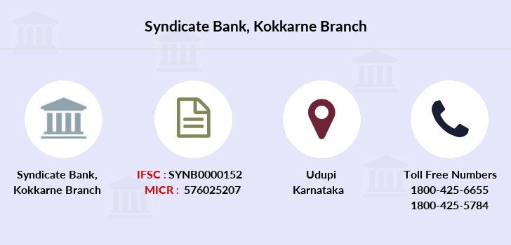 Syndicate-bank Kokkarne branch