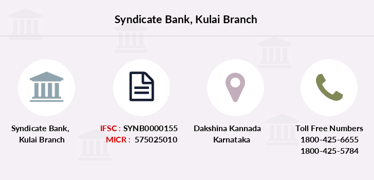 Syndicate-bank Kulai branch