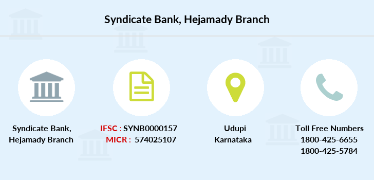 Syndicate-bank Hejamady branch