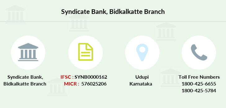 Syndicate-bank Bidkalkatte branch