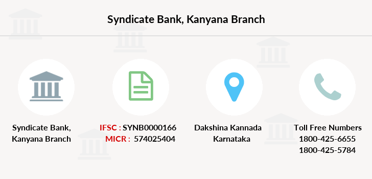 Syndicate-bank Kanyana branch