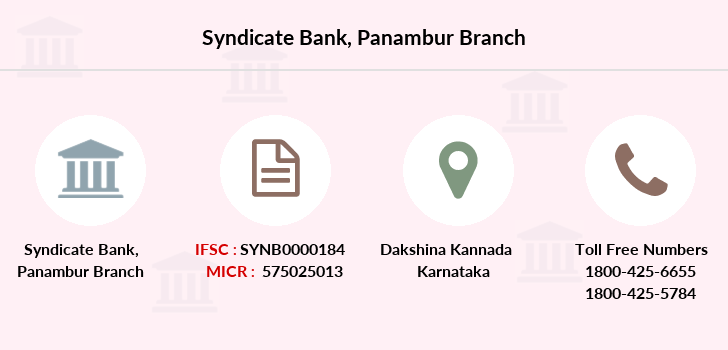 Syndicate-bank Panambur branch