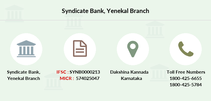 Syndicate-bank Yenekal branch