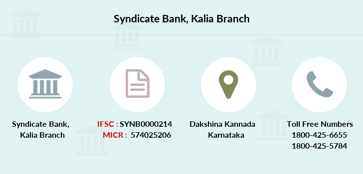 Syndicate-bank Kalia branch