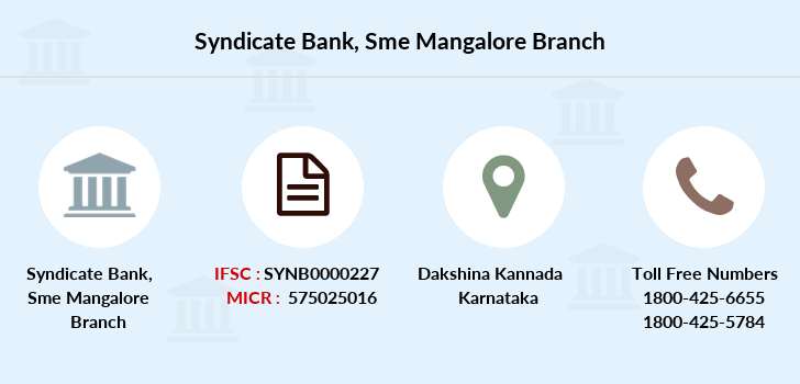 Syndicate-bank Sme-mangalore branch