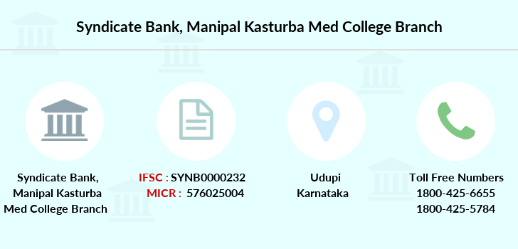 Syndicate-bank Manipal-kasturba-med-college branch