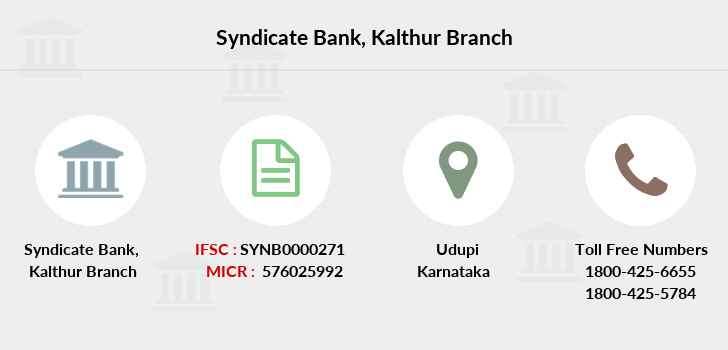 Syndicate-bank Kalthur branch