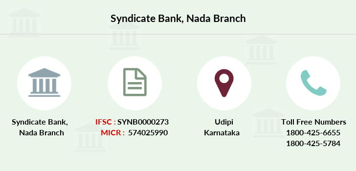 Syndicate-bank Nada branch