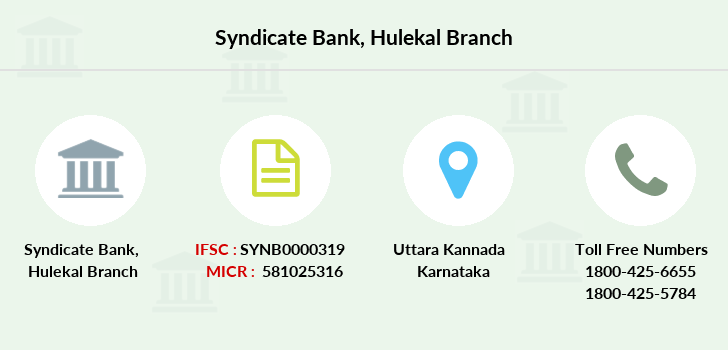 Syndicate-bank Hulekal branch