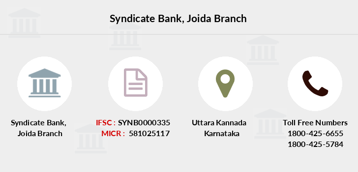 Syndicate-bank Joida branch