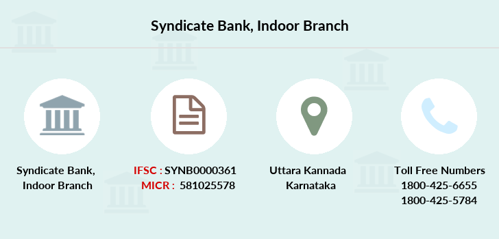 Syndicate-bank Indoor branch