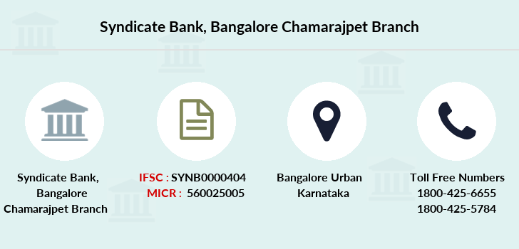 Syndicate-bank Bangalore-chamarajpet branch