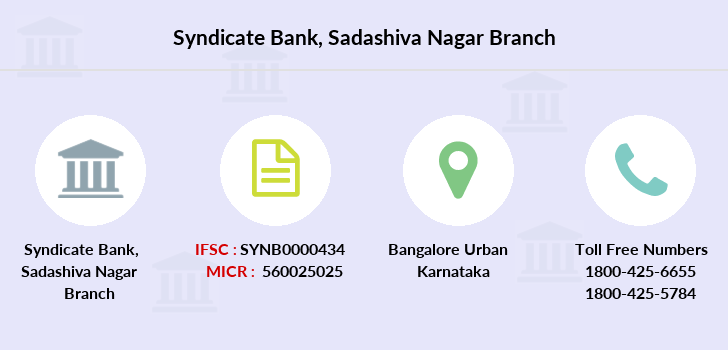 Syndicate-bank Sadashiva-nagar branch
