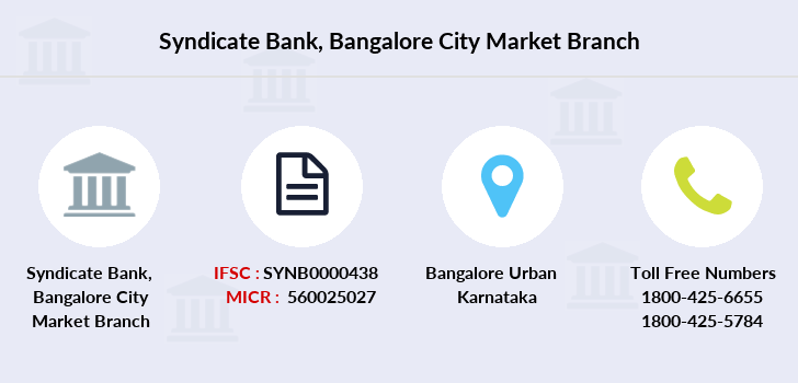 Syndicate-bank Bangalore-city-market branch
