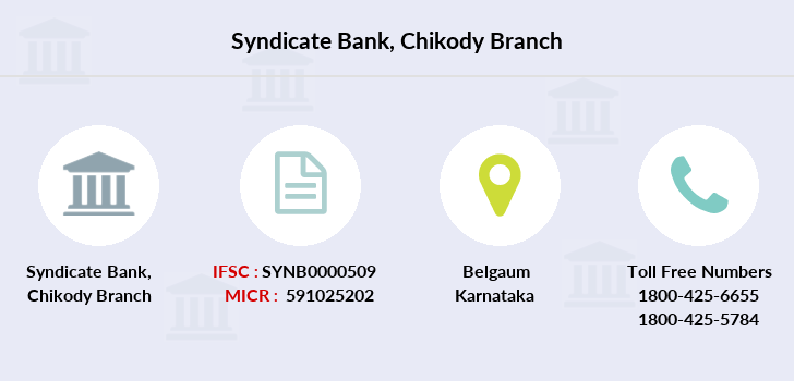 Syndicate-bank Chikody branch