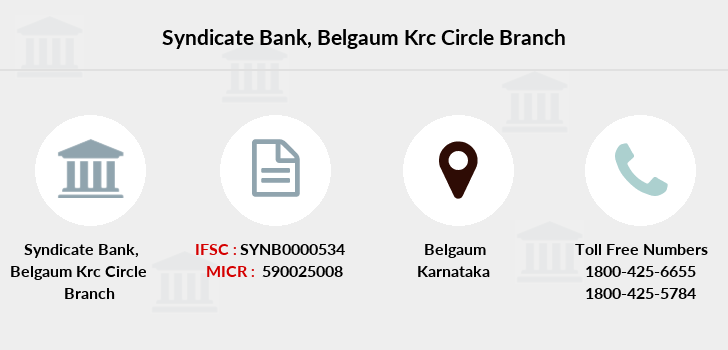 Syndicate-bank Belgaum-krc-circle branch