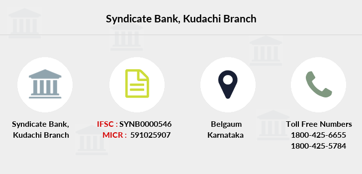 Syndicate-bank Kudachi branch
