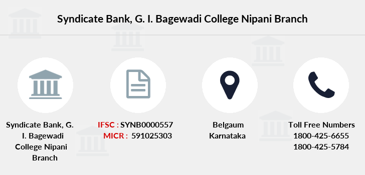 Syndicate-bank G-i-bagewadi-college-nipani branch