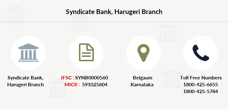 Syndicate-bank Harugeri branch