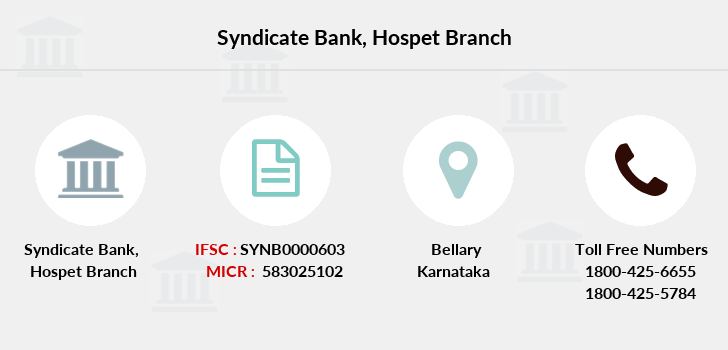 Syndicate-bank Hospet branch