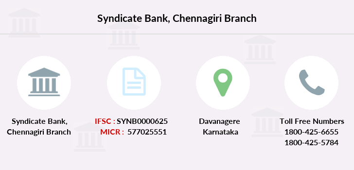 Syndicate-bank Chennagiri branch
