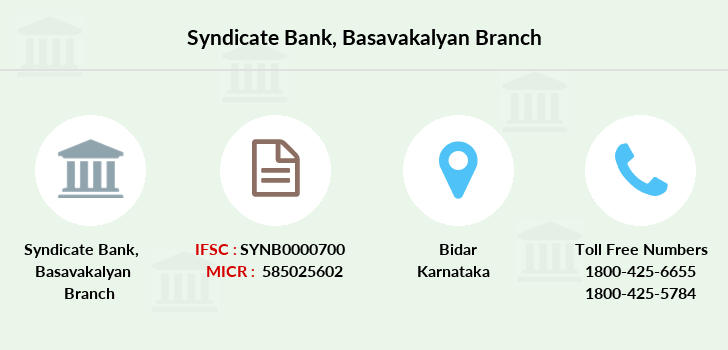 Syndicate-bank Basavakalyan branch