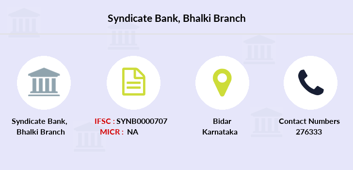 Syndicate-bank Bhalki branch