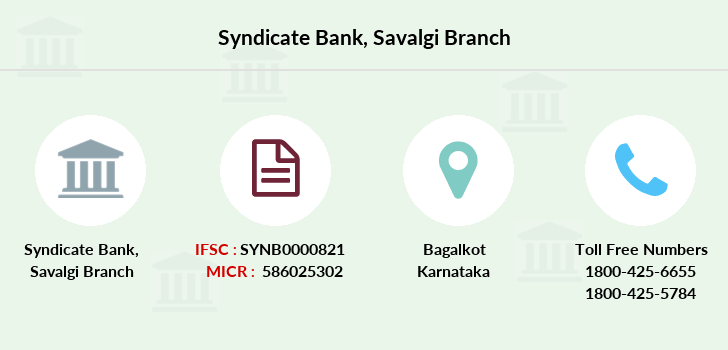 Syndicate-bank Savalgi branch