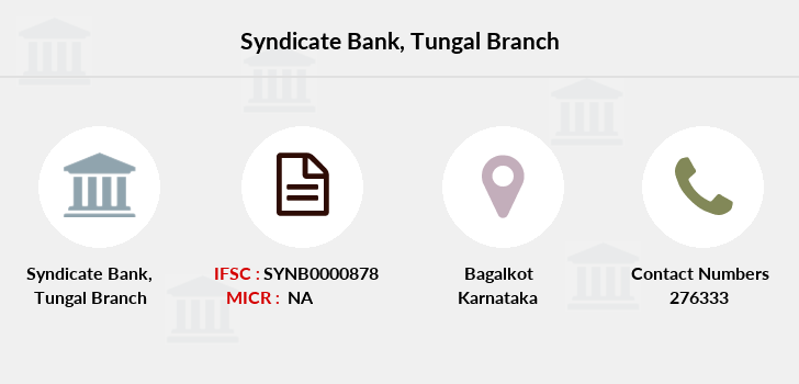 Syndicate-bank Tungal branch