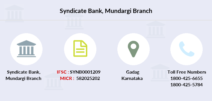 Syndicate-bank Mundargi branch