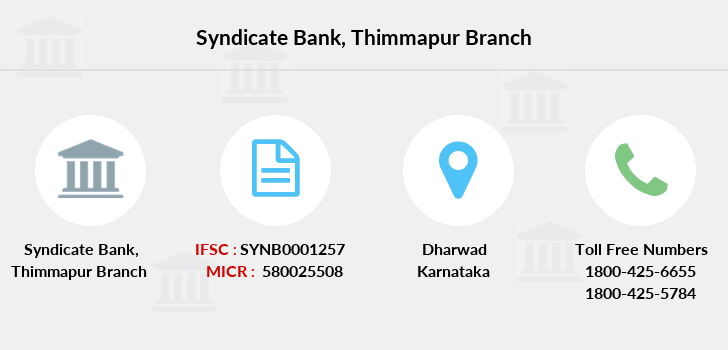Syndicate-bank Thimmapur branch