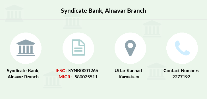Syndicate-bank Alnavar branch