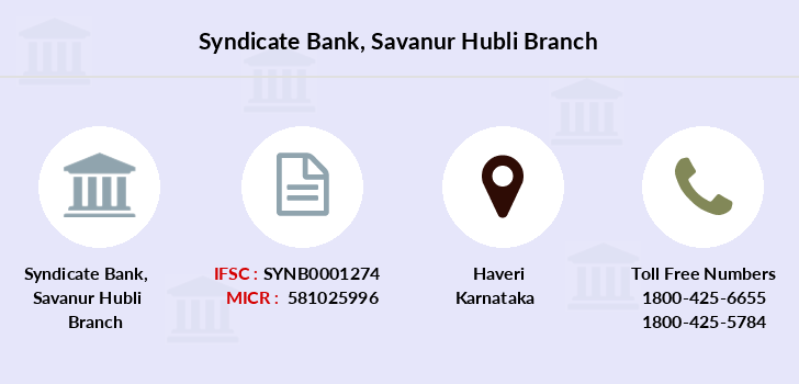 Syndicate-bank Savanur-hubli branch