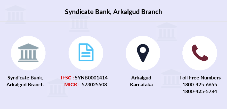 Syndicate-bank Arkalgud branch