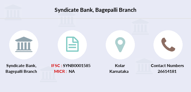 Syndicate-bank Bagepalli branch