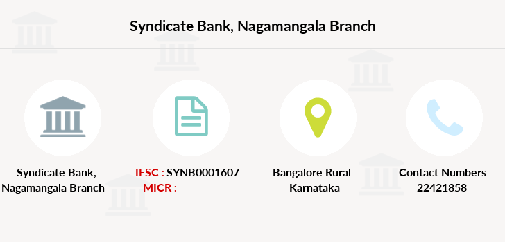Syndicate-bank Nagamangala branch