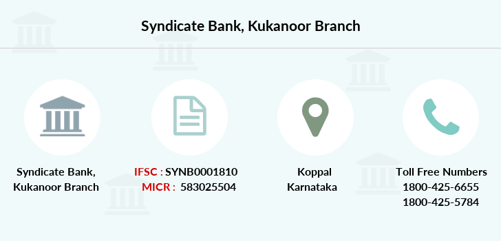 Syndicate-bank Kukanoor branch