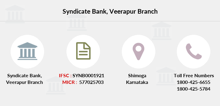 Syndicate-bank Veerapur branch