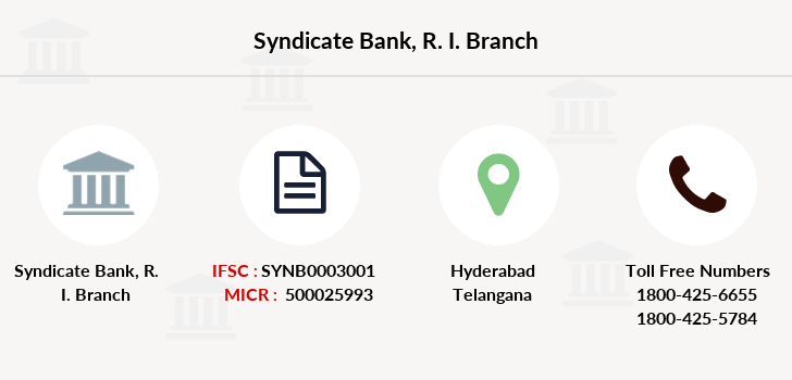Syndicate-bank R-i branch