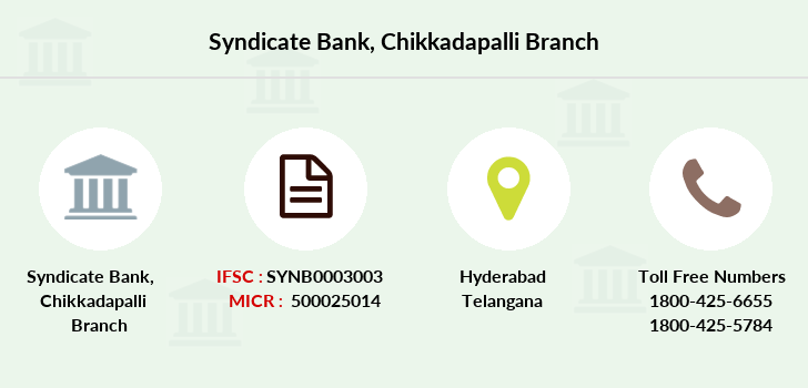 Syndicate-bank Chikkadapalli branch