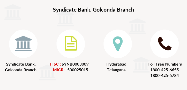 Syndicate-bank Golconda branch