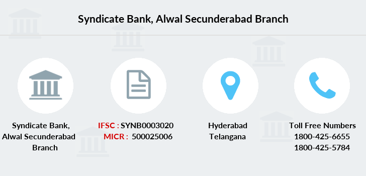 Syndicate-bank Alwal-secunderabad branch
