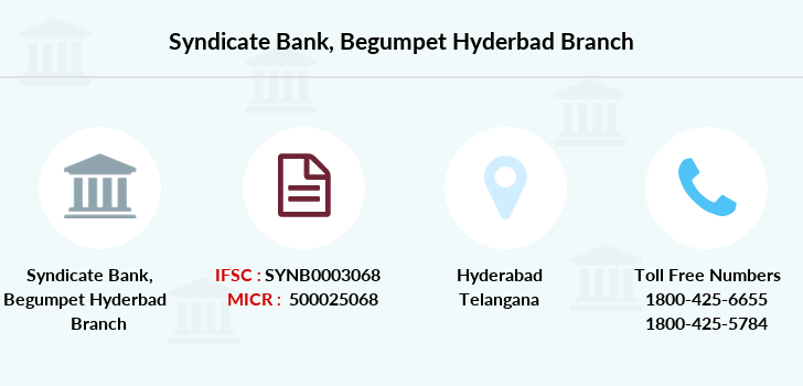 Syndicate-bank Begumpet-hyderbad branch