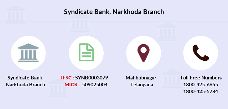 Syndicate-bank Narkhoda branch
