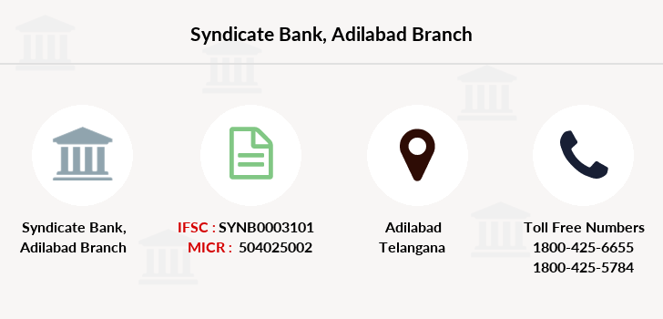 Syndicate-bank Adilabad branch