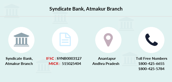 Syndicate-bank Atmakur branch