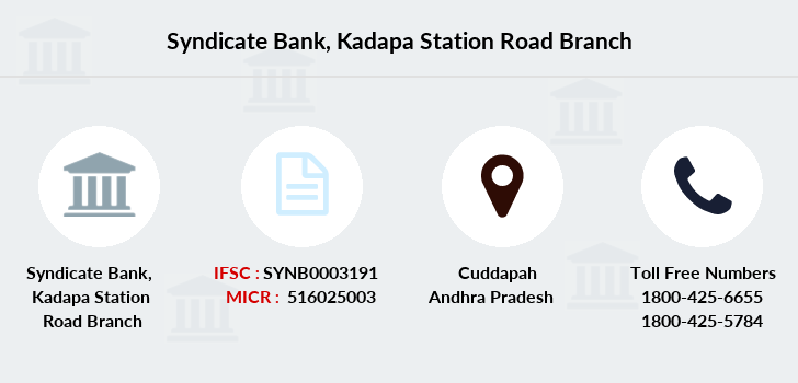 Syndicate-bank Kadapa-station-road branch