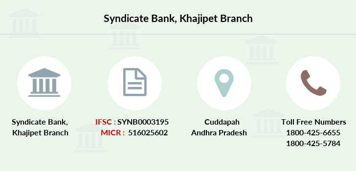 Syndicate-bank Khajipet branch