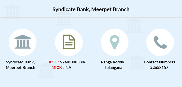 Syndicate-bank Meerpet branch